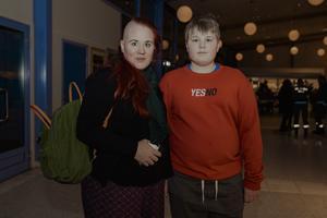 Mona Johansson och Samuel Hemström. Bild: Martin Bohm