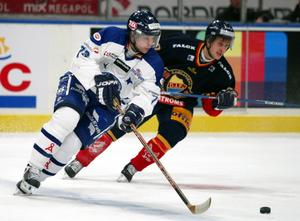 Per Löfström i en match mot Djurgården. Foto: Bildbyrån.