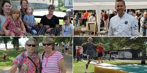 Tusentals besökare njöt av strålande sol, sportaktiviteter och närproducerade delikatesser i Societetsparken under lördagen.