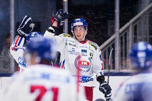 Thelin, kan han bli en spelare i allsvenskan som når 20-25 mål? Foto: Bildbyrån.