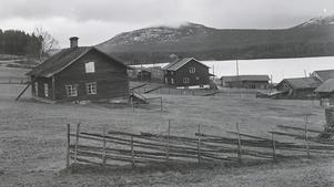 Valmåsen utanför Tännäs, byn som svaldes av Lossen. Foto: TH:s arkiv