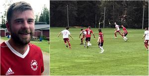 Jens Bergman gjorde 1–0 och hade även ett jätteskott som Albin Westh reflexräddade.