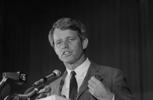 Robert Kennedy mördades när han 1968 försökte bli president i USA.Foto: AP/TT