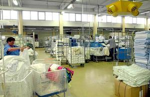 Långseletvätten i Textilias regi tappar uppdraget att tvätta för Västernorrland.Bild: Arkiv