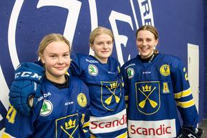Nicole Hall, Tuva Kandell, Therese Karlsson.