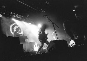 Grandroses spelar på klubben Rockebo. Foto: Mattis Lindqvist.