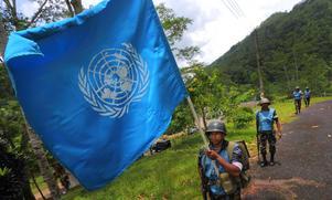 Debattören skriver att FN är extra betydelsefullt för små och omvärldsberoende länder. Foto: Eranga Jayawardena/AP Photo