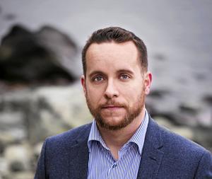 Marcus Svinhufvud (M). Foto: Charlotte Friberg