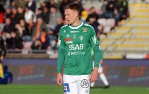 Simon Alexandersson stod för åtta mål i Bragetröjan under fjolårsvåren. På torsdagskvällen står han på andra sidan, när Brage möter Dalkurd.