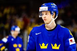 Elias Pettersson missar onsdagens match mot Österrike.Bild: Petter Arvidson/Bildbyrån
