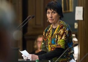 Karin Solum hade en plats i fullmäktige förra mandatperioden för Miljöpartiet.