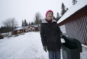 Posten kan få svårt att ta sig fram längs en igensnöad väg. Foto: Jan Johansson/VK