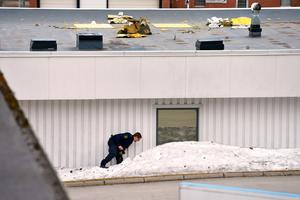 Under natten till söndagen gjorde någon inbrott på Shell i Bydalen genom att ta sig in via taket.