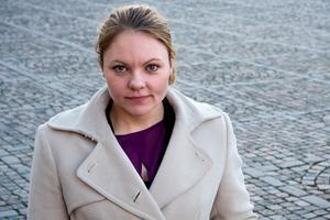 Anna Wallén valdes in i riksdagen 2010.