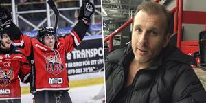 Conny Strömberg avslutade förra säsongen i Hudiksvall (vänster). I Hockeypuls podcast berättar han att han är sugen på att slå sitt eget världsrekord. Foto: Sporten.