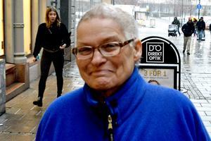 Britt-Marie Swing, 66 år, riksspelman, Delsbo: