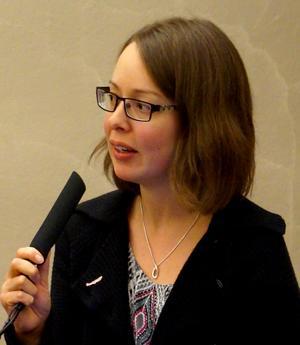 Elina Brodén hoppas att partiet ska locka fler kvinnliga medlemmar.