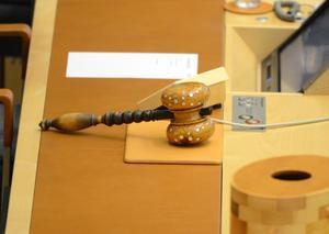 Talmannen har ännu viktigare uppgifter än att leda riksdagens sammanträden.Foto: Fredrik Sanberg/TT
