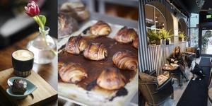 Ta en paus på ett av byns caféer. Foto: Lina Johansson/Pressbild: Erik Olsson/Foto: Emma Alzén