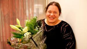 Emelie Pettersson när hon fick reda på att hon tilldelats  Telgebragden.