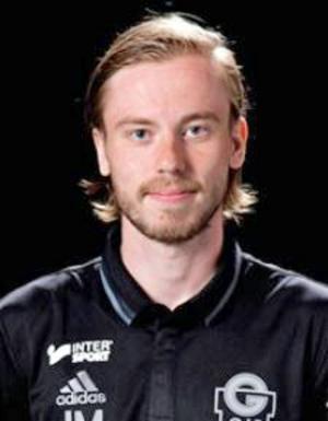 Johan Montén, tränare för Gustafs GoIF.