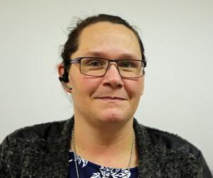 Helena Bredesen berättar att det var ett väldigt obehagligt samtal som enhetschefen mottog.