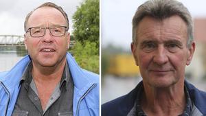 Landsbygdspartiets styrelse beslutade på fredagen att utse Olle Larsson och Billy Anklew till partiets kandidater att dela posten som oppositionsråd. Bilden är ett kollage.