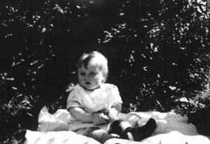 Skribenten själv, anno 1931. Foto: Privat