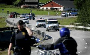 Efter att Daniel Maiorana gripits på torsdagen var Tony Olsson den sista rymlingen som polisen sökte efter. Foto: Daniel Nilsson