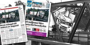 Riv från LT lördagen den 2 juli 2016 och tisdagen den 6 september 2016. Foto: Pontus Stenberg