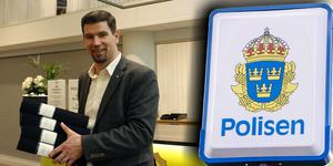 Polisen undersöker kommunalrådet Markus Evenssons Skottlandsresa tidigare i år.