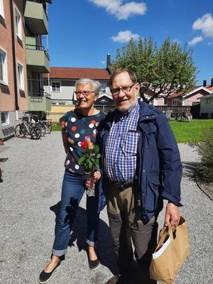 Jan-Erik Martinsson med fru Marianne.