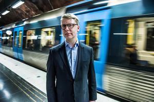 Kristoffer Tamsons (M) är trafikregionråd. Foto: Lars Pehrson/TT