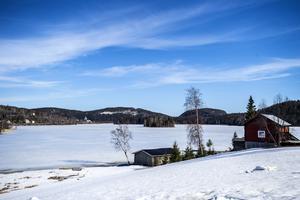 Utsikten ner mot Vågsfjärden går inte att klaga på.