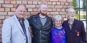 Från vänster: Leddart Sydh, Jesse Ljung, Ragnhild Sandelius Brodow och Tony Björklund.