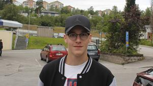 Emil Halilovic, 18 år, studerande, Timrå.