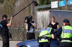 Insatsen i Borgsjö dokumenterades också av en produktion som just nu följer Norrlandspolisens arbete.