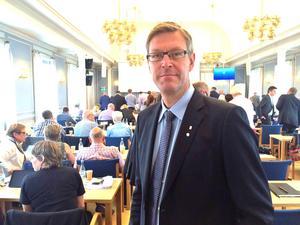 Erik Lövgren (S) får svara på Thelinaffären i fullmäktige i nästa vecka.