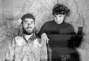 Hampus Norén och Sara Parkman har skrivit både text och musik till de åtta låtarna som släpps under fredagen. Bild: Pressbild