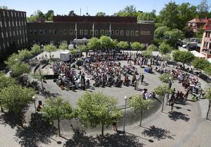 Manifestationen kommer att hållas på Banantorget, Stadshusplatsen, i Nynäshamn. Foto: NP/arkiv