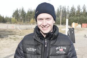 Arvid Johansson, Östersund-Frösö Ridklubb vann Klass 5 Medelsvår B:5 med hästen Sargazzo P.