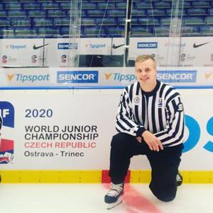 Totalt blev det sex matcher på isen för Tobias Nordlander.