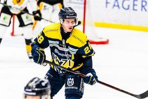Anton Bengtsson och hans HV71 föll mot Skellefteå på lördagen.