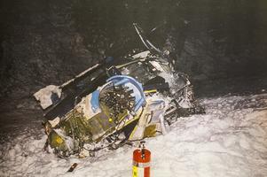 Ur ÖP 27 december 1991. Bilden är tagen av ÖP:s fotograf Olof Sjödin