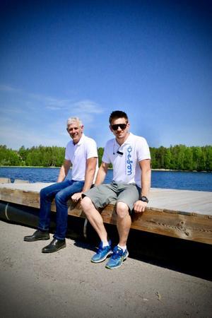 Försomrarna innebär för arrangörerna David Axelsson och Kalle Söderlund rejält med planeringsarbete.