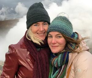 Åsa Brolin och hennes amerikanska