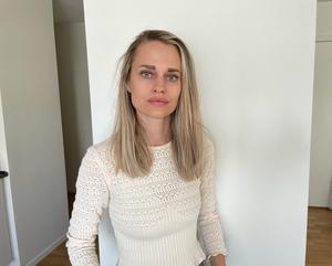 Sofie Hellström non è sicura che molte persone possano condividere informazioni sensibili che potrebbero trovarsi in una rivista.