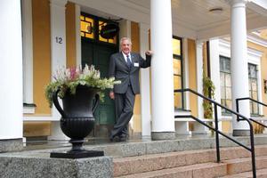 Claes-Göran Almér gick själv på Tärna folkhögskola mellan 1960-1962. Här när Tärna folkhögskola firade 140 år med både lärare och elever från förr och nu.