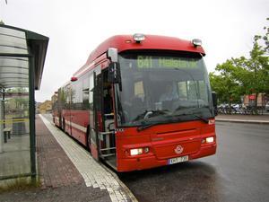 Linje 641 får utökat antal turer på helgerna. Foto: Anders Sjöberg