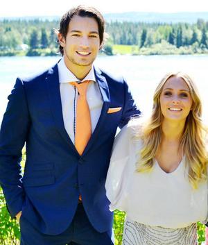 Marcel Peña och Annica Englund är fortfarande ett par, två år efter att de möttes i dokusåpan Big Brother 2012.